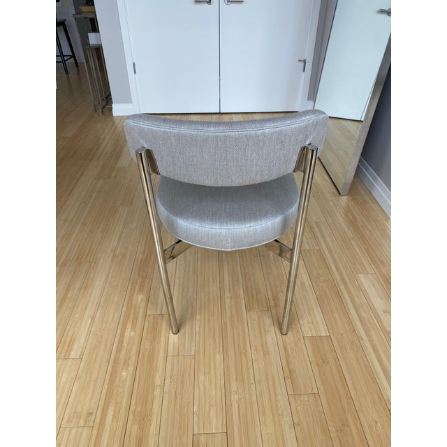 Modern White Kimora Mitchell Gold Bob Williams Dining Table & Chairs - Set of 7 For Sale - Image 12 of 13