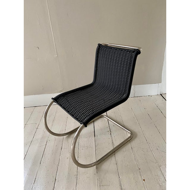 Mies Van Der Rohe Side Chairs- a Pair For Sale In New York - Image 6 of 11