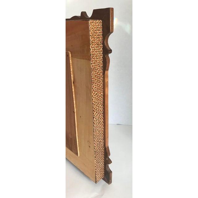 Khatam Kari Signed Original Wood Inlay Clock - Image 5 of 6