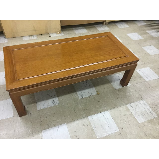 Great George Zee Hong Kong heavy coffee table! From a non smoking home!
