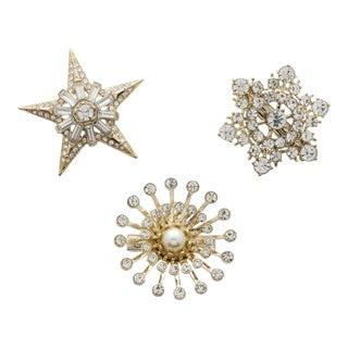 Star Clip Set - Set of 3 For Sale