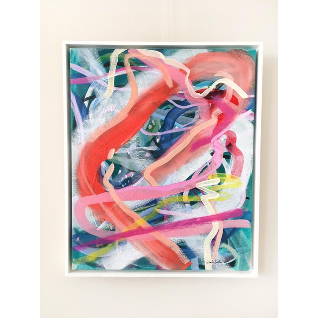 2010s Dreamy Waterscape Contemporary Painting For Sale - Image 5 of 5