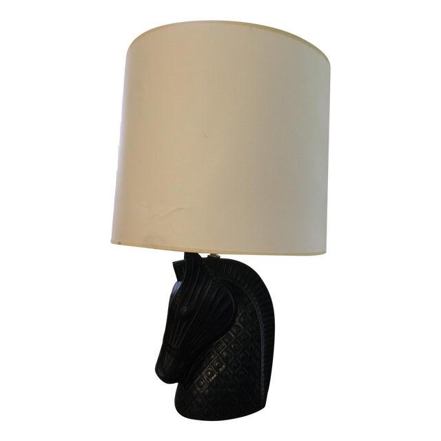 Jonathan Adler Horse Head Table Lamp - Image 1 of 8