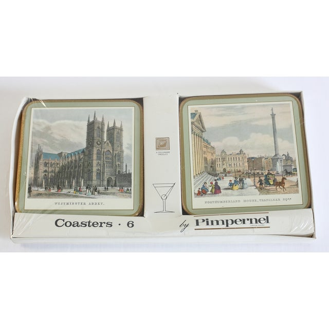 Coasters of 19th Century London - Set of 6 For Sale - Image 5 of 7