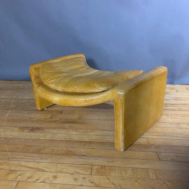 1960s Vittorio Introini for Saporiti Lounge & Ottoman For Sale - Image 10 of 13