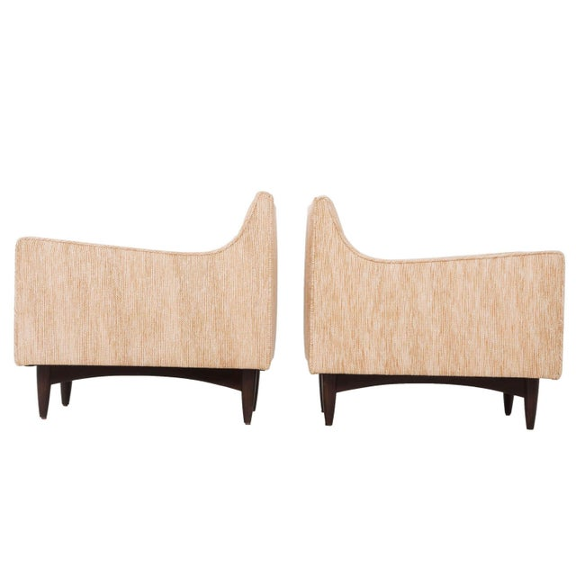 Pair of Woven Lounge Chairs For Sale - Image 14 of 14