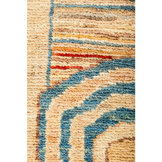 "Suzani Hand Knotted Area Rug - 5'5"" X 6'6"" - Image 3 of 3"