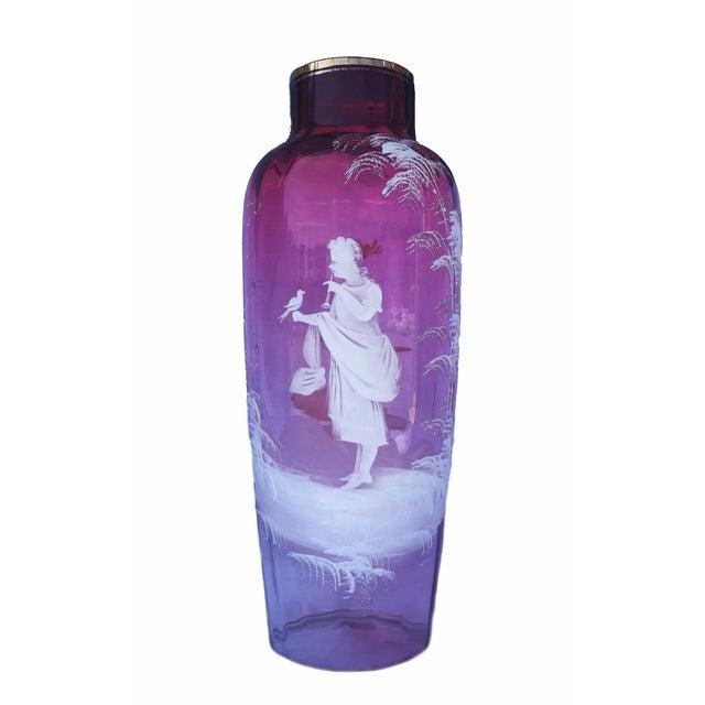 Ruby Glass Vase C. 1880 - Image 1 of 5