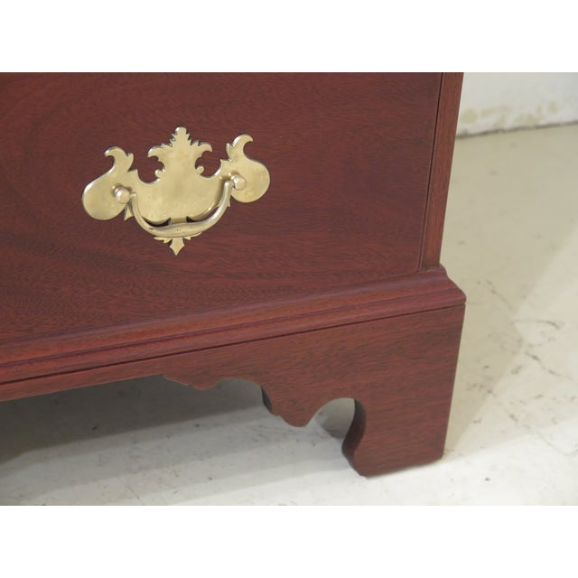 1970s 1970s Vintage Kittinger Colonial Williamsburg Mahogany Desk For Sale - Image 5 of 13