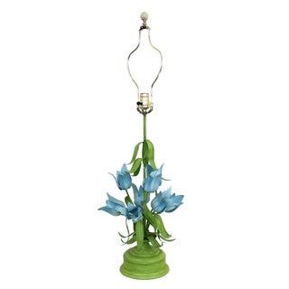 Palm Beach Regency Italian Tole Lamp