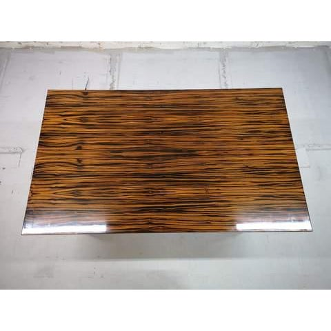 Mid-Century Modern Danish Draw Leaf Expanding Dining Table For Sale - Image 9 of 13