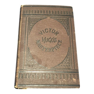 1880 Antique Lés Miserables Library Edition Book For Sale