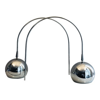 Mid-Century Modern Sonneman Wall Mounted Lamps - a Pair For Sale