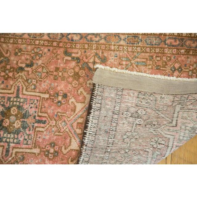 "Vintage Persian Karaja Square Mat - 2' x 2'5"" - Image 5 of 6"