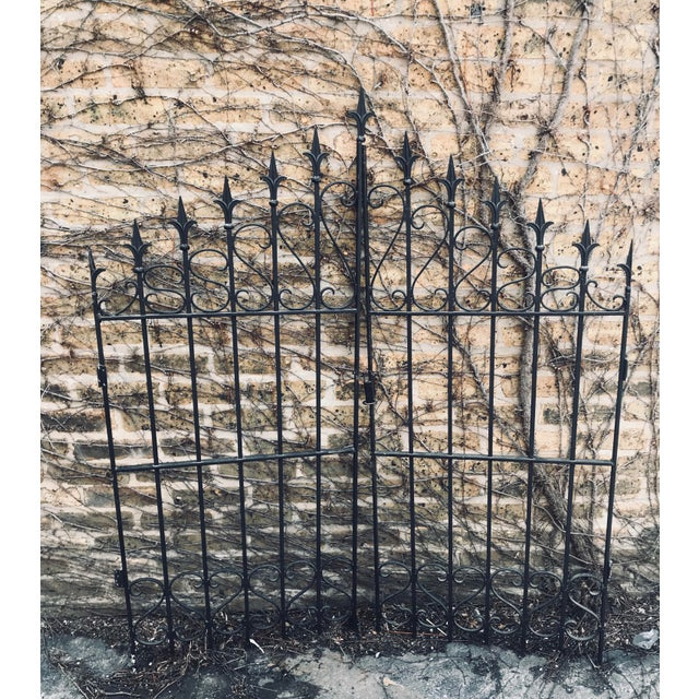 Heavy Wrought Iron Gate For Sale In Chicago - Image 6 of 6