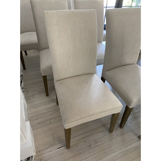 2010s Restoration Hardware Hudson Chairs, S/10 For Sale - Image 5 of 9