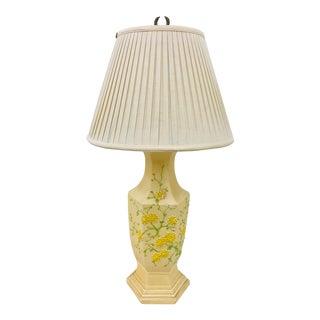 Vintage Hollywood Regency Style Plaster Lamp For Sale