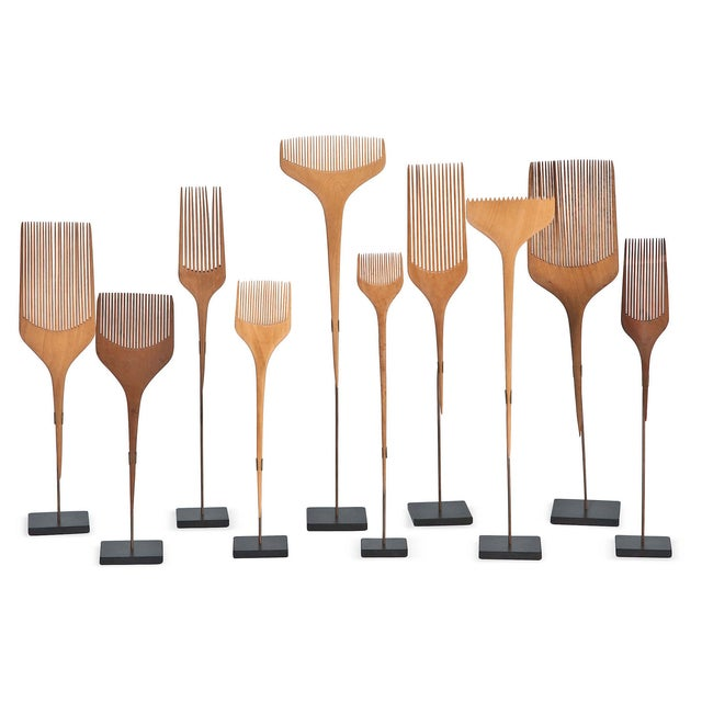 Japanese Combs - Set of 10 - Image 1 of 2