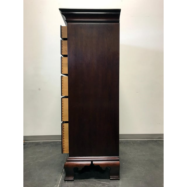 Statton Private Collection Solid Cherry Salem High Chest - Image 5 of 11