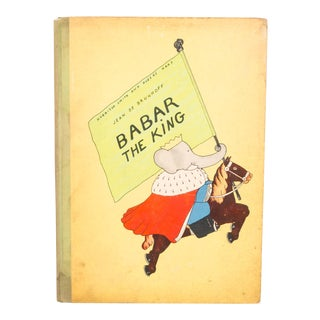 Babar the King 1st Editon 1935 For Sale
