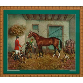 """""""Foxhunter in a Stall"""" For Sale"""