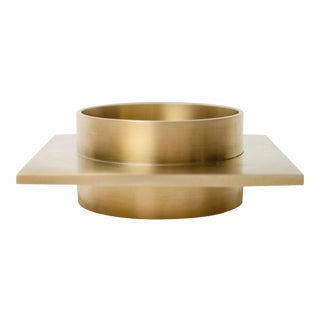 Contemporary 001 Ashtray / Dish in Brass by Orphan Work, 2018