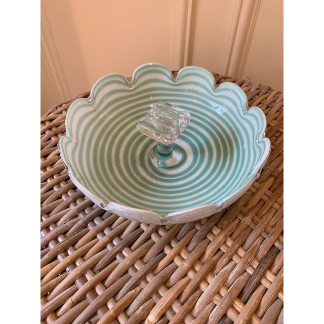 1970s Fratelli Toso Murano Candy Dish For Sale - Image 5 of 7