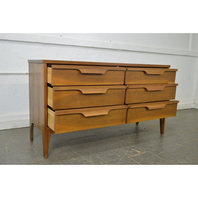 Johnson Carper Danish Modern Style Walnut Dresser - Image 2 of 11