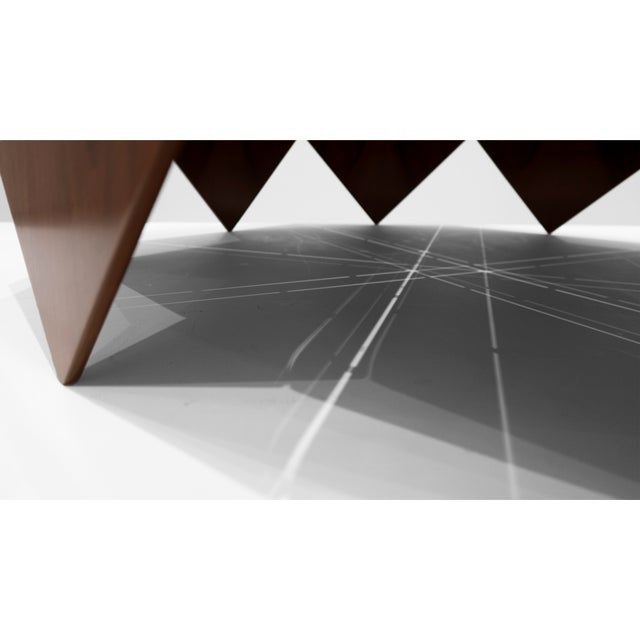 """Jorge Zalszupin, """"Petalas"""" Rosewood Coffee Table, C. 1960 - 1969 For Sale In Los Angeles - Image 6 of 8"""