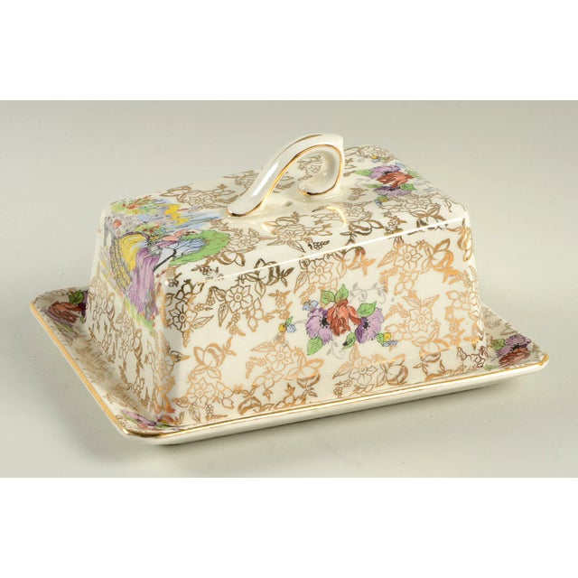 Lord Nelson Pompadour Cheese Dish With Lid For Sale - Image 10 of 10