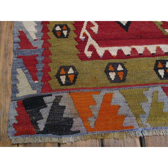 Sharkisla Kilim For Sale In New York - Image 6 of 8