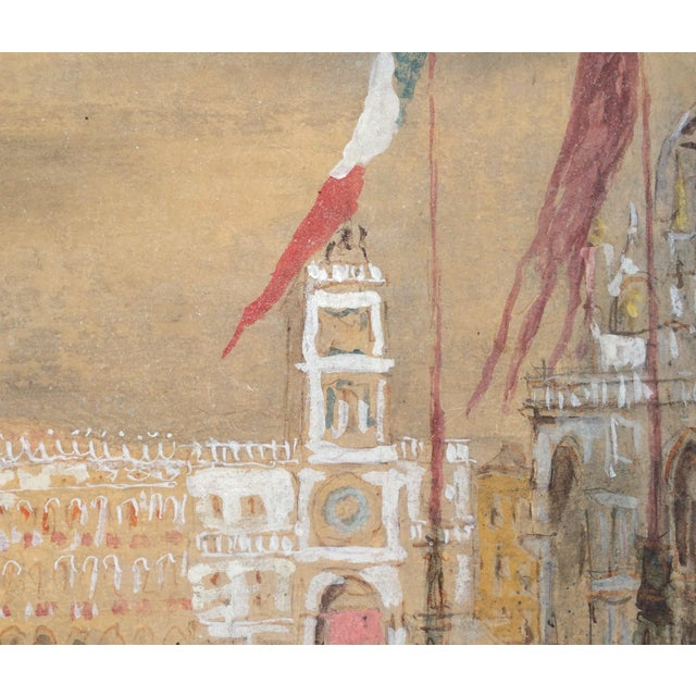 Piazza San Marco by Giorgio Valenzin For Sale - Image 4 of 8