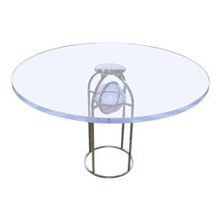 Charles Hollis Jones Bullet Dining Table For Sale
