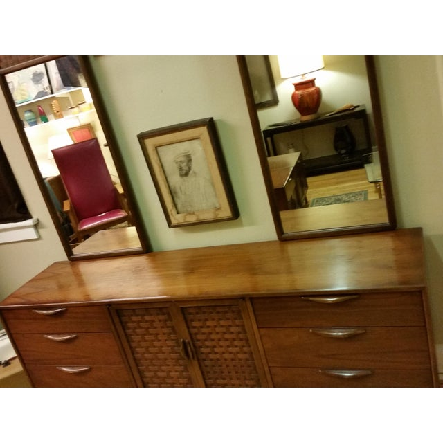 "Warren Church for Lane ""Perception "" Dresser With Mirrors - Image 8 of 9"