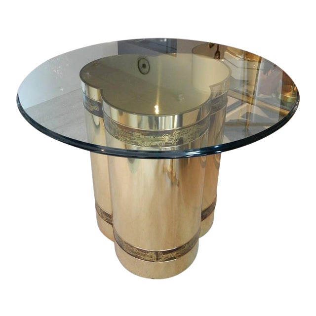 Brass Table by Bernhard Rohne for Mastercraft For Sale
