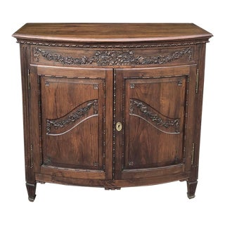19th Century Country French Fruitwood Buffet For Sale