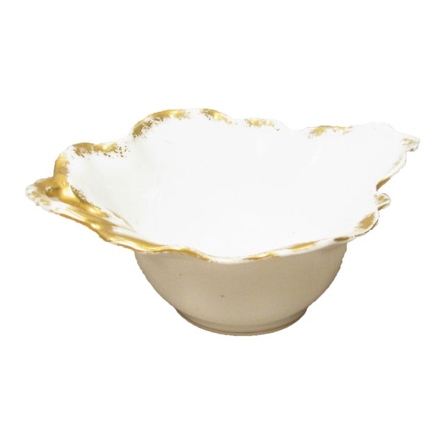 French Limoges Sauce Boat W/ Underplate For Sale - Image 4 of 7