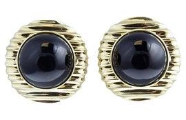 Image of Onyx Earrings