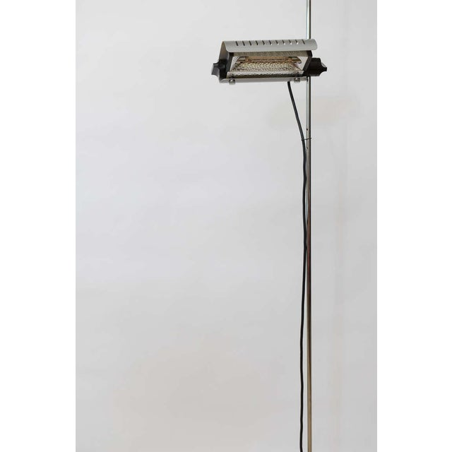 1960s Joe Colombo Alogena for O-Luce Italian Adjustable Floor Lamp For Sale - Image 5 of 10