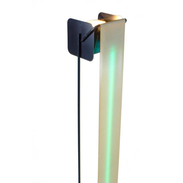 Post Modern Neon Light Sculpture Torchiere after Rudi Stern - Image 6 of 10