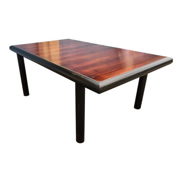 Robert Baron for Glenn of California, Rosewood Top Dining Table For Sale