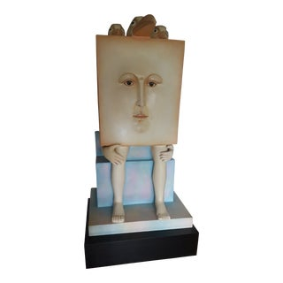 20th Century Abstract Sergio Bustamante Limited Edition Sculpture For Sale