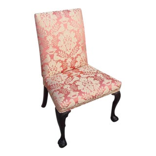 Early 19th Century Vintage High Back Side Chair For Sale