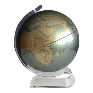 Replogle Diamond Marquise Series Lucite Globe For Sale