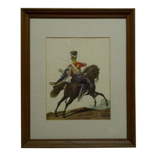 """1950s Vintage """"Isumsky Hasan - 1815"""" Print For Sale"""