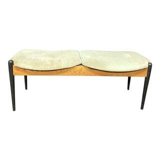 1960s Mid Century Modern Arthur Umanoff Bench For Sale