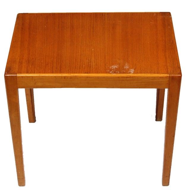 1970s Danish Elm Side Table - Image 2 of 3