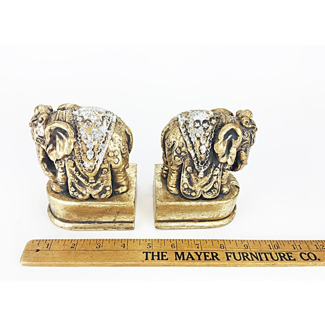 Indian Elephant Bookends - Pair - Image 6 of 6