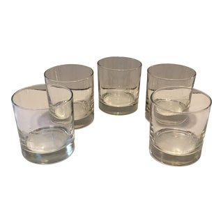 University of Southern California Gamble House Monogrammed Crystal Glasses - Set of 5