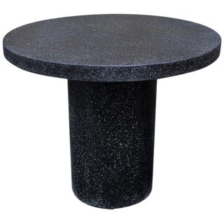 Cast Resin 'Spring' Dining Table, Coal Stone by Zachary A. Design For Sale